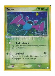 Pokemon ex equipo Rocket returns - 82/109 - Zubat-inglés 							 							</span>