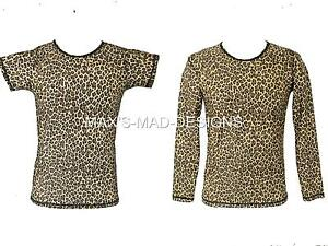 Boys Leopard Print Top Street Dance Costume Hip Hop Stage