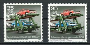 DDR Plattenfehler MiNr. 2417 II + III postfrisch MNH (I902