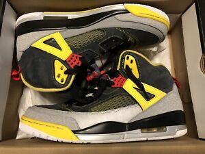 """Nike Air Jordan Spizike """"3M"""" Black, Red"""