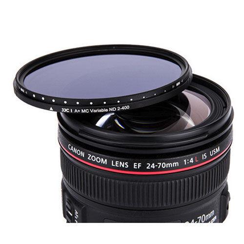 Jjc 67mm Variable Filtro De Densidad Neutra ND Canon 18-135mm 70-200mm 4 Delgado