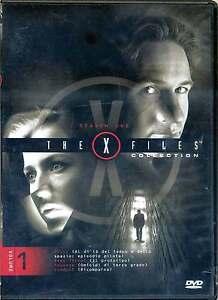 DVD-The-X-Files-Collection-VOL1-Primi-4-Episodi-di-tutta-la-serie-ITALIANO