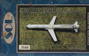 AGM-84H Slammer for F-15,F-16,F/A-18 kit 1/48 Resin SOL 165