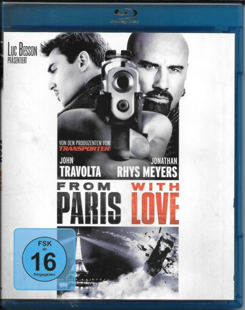 From Paris With Love Blu Ray TOP!
