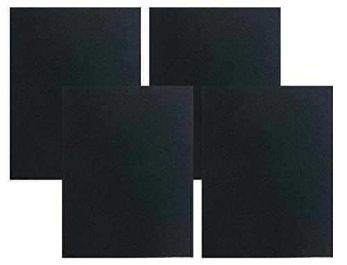 Charcoal Carbon Filters Pad Kit Compatible For Honeywell 32006026-001 4-PACK
