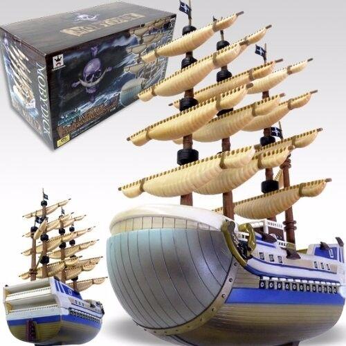 One Piece Grandline Men Ships Moby Dick White Beard Banpresto figure Japan