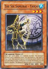 STON-EN007 The Six Samurai - Yaichi 1st Edition Yugioh Card