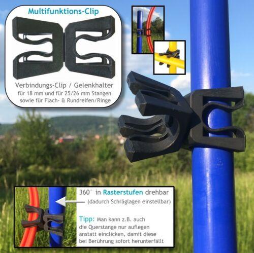 Trainingshilfen-Auswahl Markierungskegel Pylonen Hütchen Kegel /& Hürdenstangen