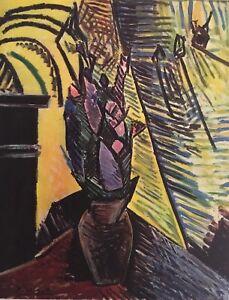 Marc Chagall Mourlot Paris Maquette for Philetons Offset.Lithograph1969
