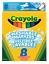 Crayola 8 Broadline Washable Markers