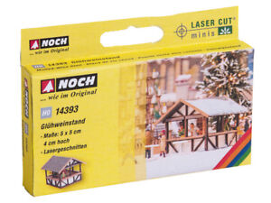 NOCH-14393-Ho-L-C-Mulled-Wine-Stand-Laser-Cut-Minis-Kit-New-IN-Boxed