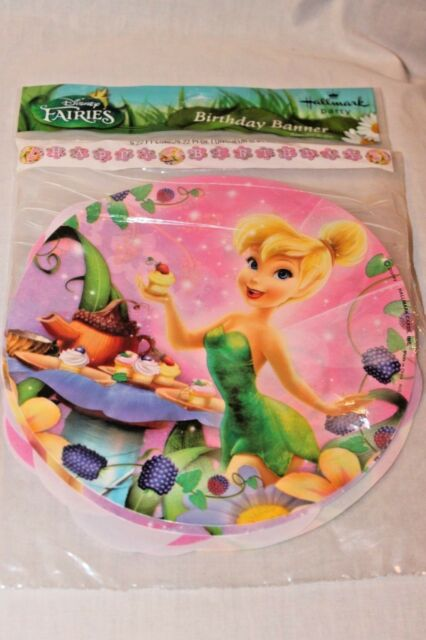 Tinker Bell /'Tink/'s Sweet Treats/' Birthday Banner 9 Ft PARTY