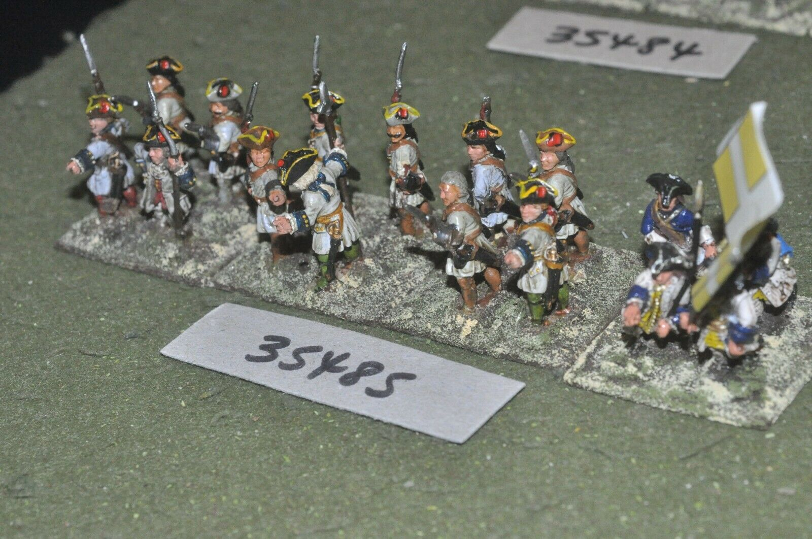 25mm marlburian   french - regiment 16 figures - inf (35485)