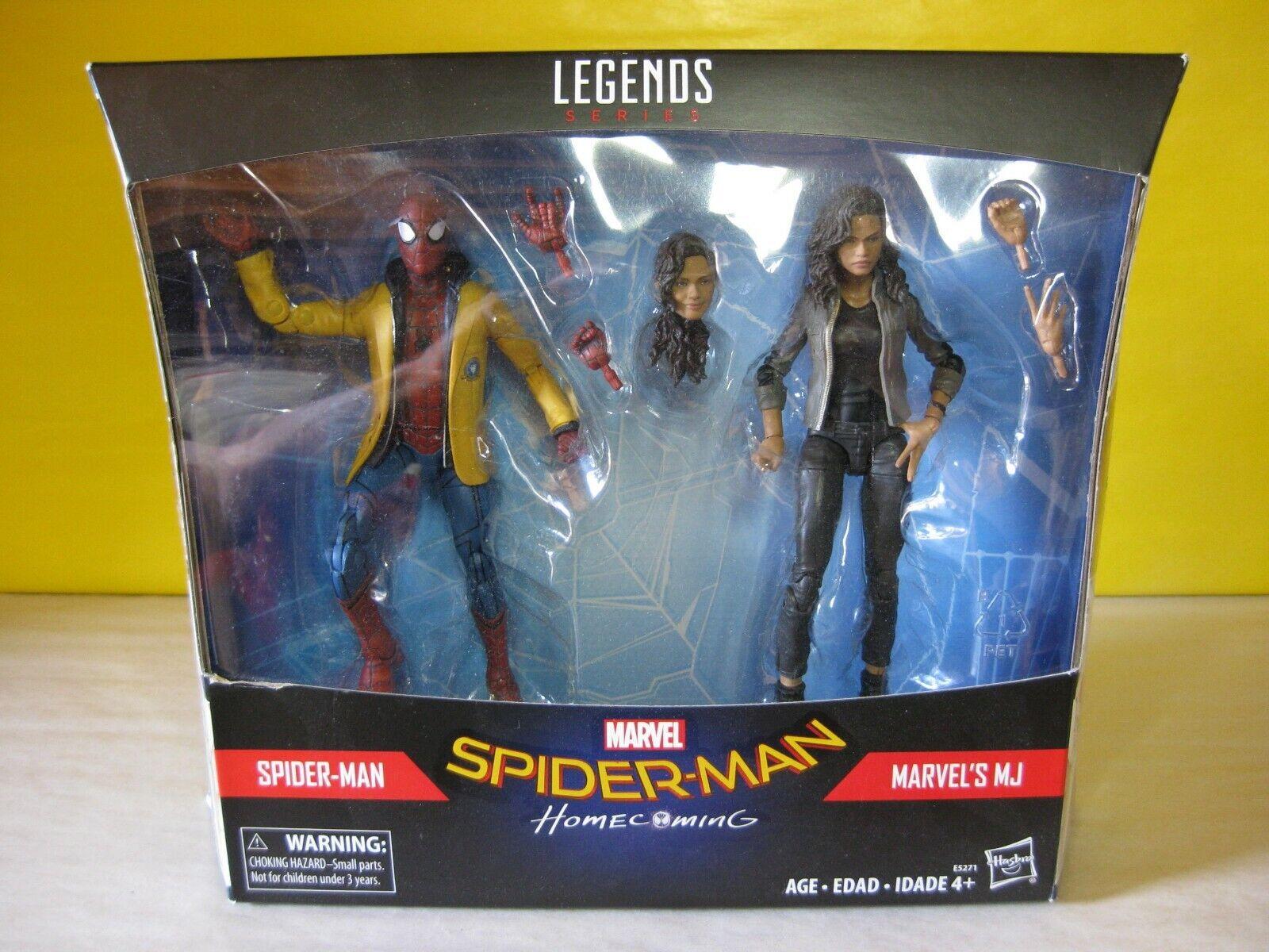 2017 Marvel Legends Target Exclusive 6  Spider Man Homecoming 2 Pk New MIP
