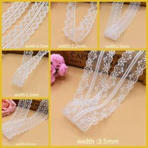 Beautiful-10-Yards-White-Lace-Ribbon-Embroidered-Ribbon-lace-trimmings-wedding