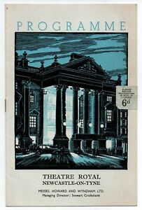 Theatre-Royal-Newcastle-Can-Can-by-Cole-Porter-Vintage-Programme-1956
