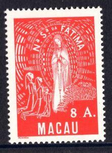 Macau Macao 336 Lady of Fatima 1949 8 A MNH Mint Never Hinged
