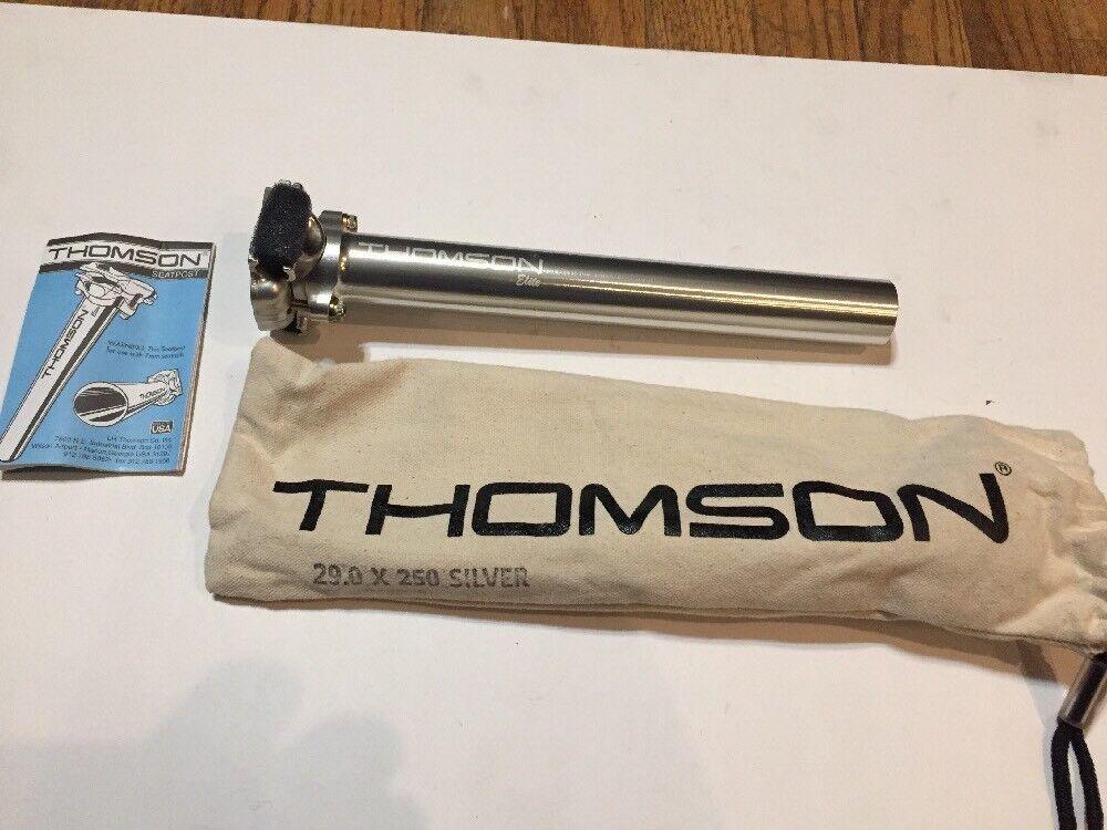 NOS Thomson Elite Sitz Post 29.0 X 250 Silber