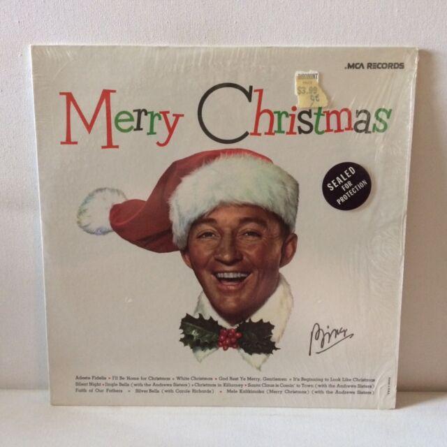 Bing Crosby Merry Christmas Vinyl Record Album Pop Vocal MCA Records MCA-15024   eBay
