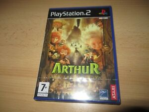 Arthur-and-the-Minimoys-the-invisibles-PS2-Pal-Version-new-Sealed