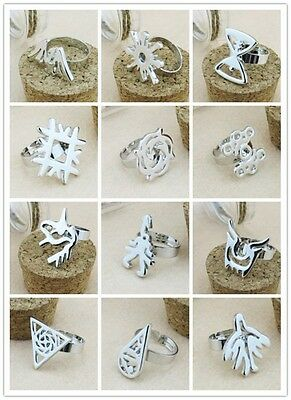 EXO EXO-M EXO-K Member alloy ring with box NEW Kpop Free Shipping