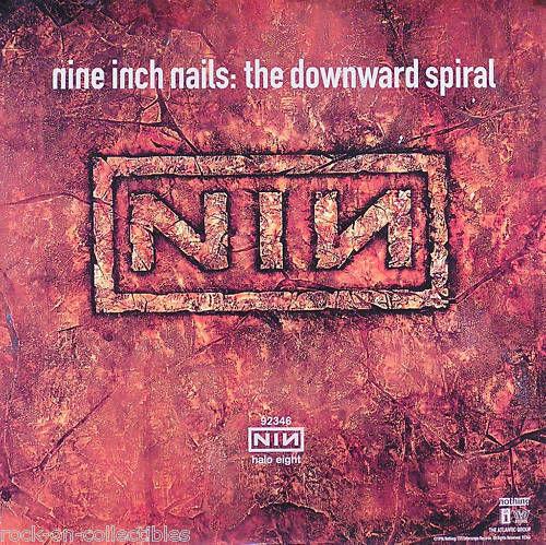 Nine Inch Nails NIN 1994 The Downward Spiral Original Promo Poster