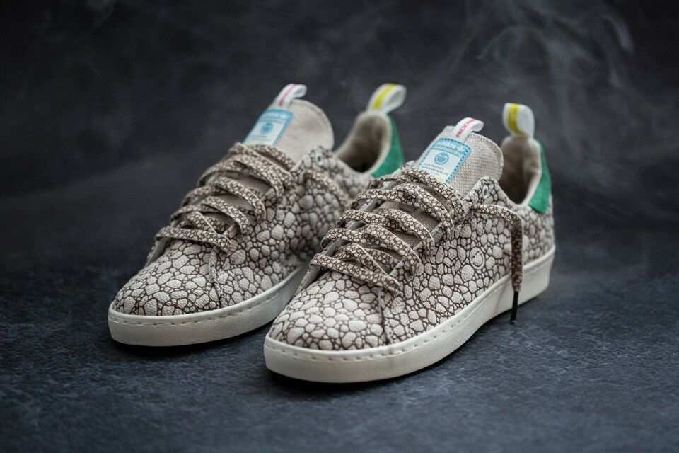 Taille 5.5 BAIT Adidas Stan Smith Vulc Hemp Happy 420
