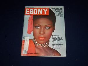 1980 NOVEMBER EBONY MAGAZINE - LAVEDA COOPER COVER - SP ...