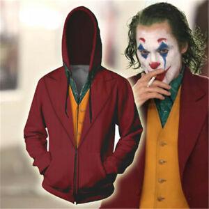 Movie-The-Joker-Hoodie-Sweatshirt-Cosplay-Costume-Coat-Pullover-Unisex-Halloween