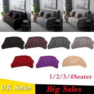 1234 Seats Universal Sofa Funda Couch Cover Corner Stretch Slipcover