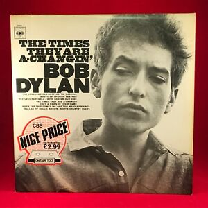 BOB-DYLAN-The-Times-They-Are-A-Changin-039-1970s-UK-VINYL-LP-EXCELLENT-CONDITION