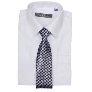 Robert Allen Boys Dress Shirt /& Tie Formal Wear for Children /& Kids White