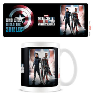 Boxed Mug Ceramic in Gift Box - Falcon & The Winter Soldier Wield The Shield