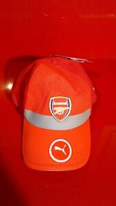 3c5aa67904f3 Puma Arsenal Cap red new with tags baseball hat Soccer Football club ...