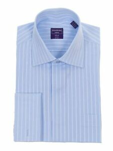 Light-Blue-Tonal-Striped-Spread-Collar-French-Cuff-Cotton-Dress-Shirt