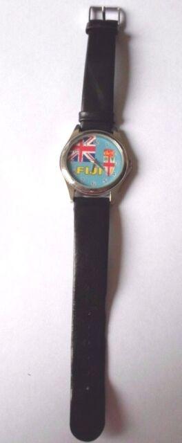 Fiji National Flag/Fiji/Fijian/Fiji EX-DISPLAY Watch-Unisex. Great gift.