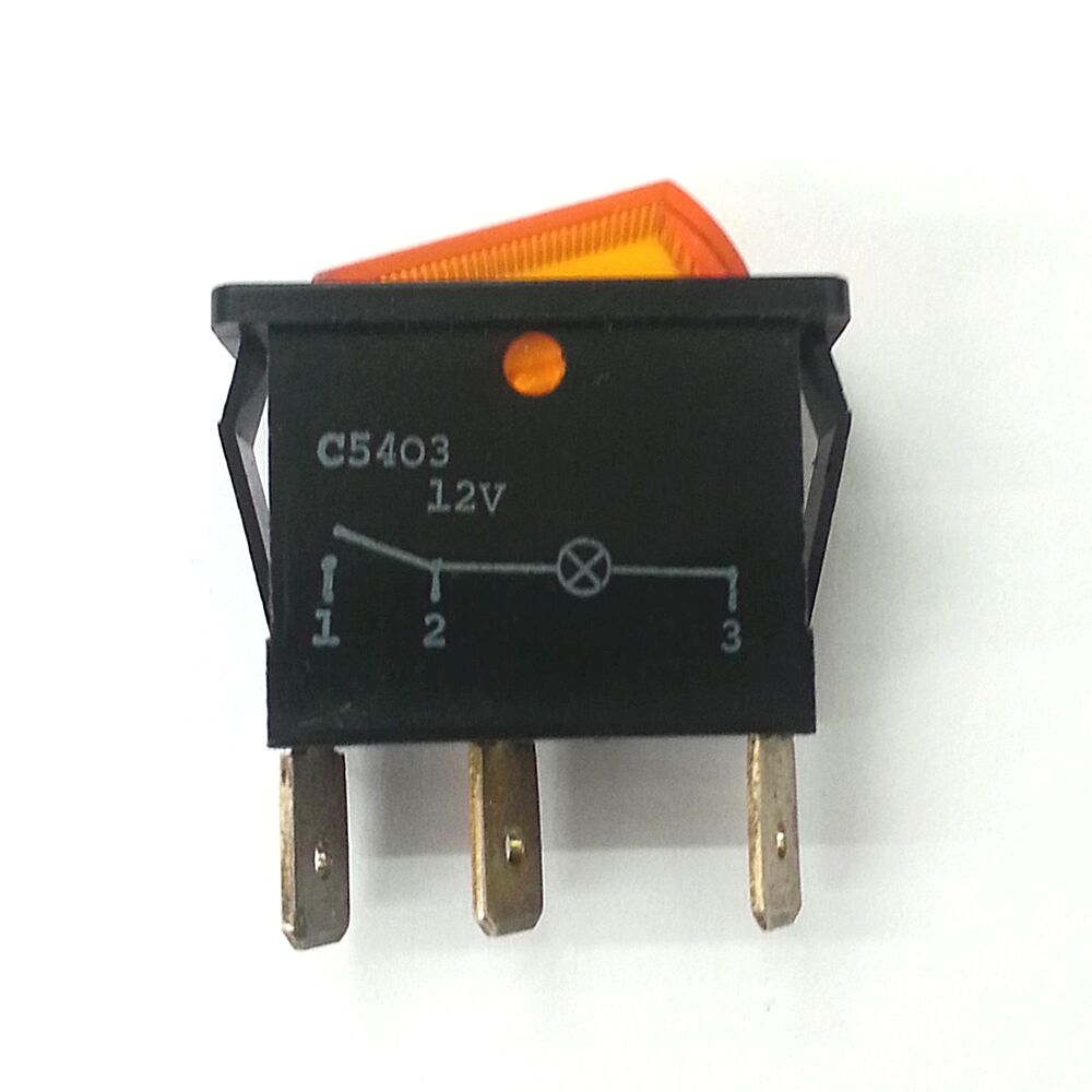 Arcolectric C1500fa Spst On Off Black Rocker Switch 16a 250v Ac Ebay Round All Electronics Corp Stock Photo