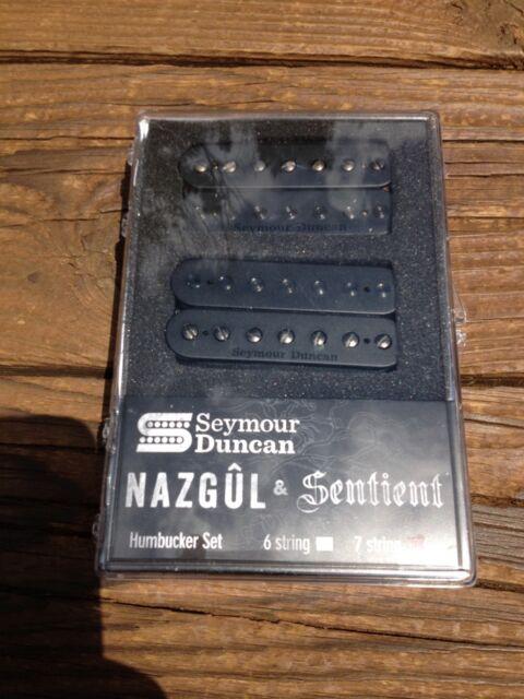Sentient 7 String Pickup Set Black 11108-96-B7 Seymour Duncan Nazgul