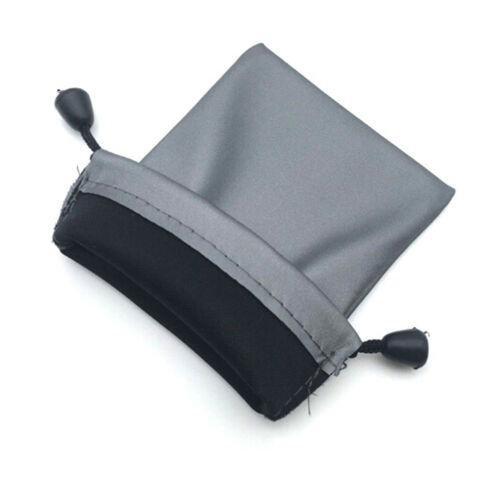 2X Drawstring Storage Bag Portable Waterproof for phone cable power bank 8.5*IJ