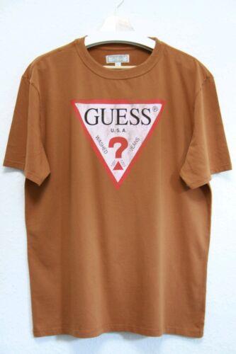 Guess surdimensionné Classique Logo Tee-shirt Homme