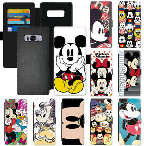 ed6c1b1b38 Cartoon Mickey Mouse Fashion Flip Wallet PU Leather Phone Case For ...