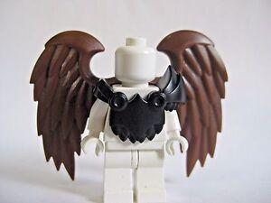 Helmet /& Brown Wings for Lego Minifigures Custom HARPY Brown Armor