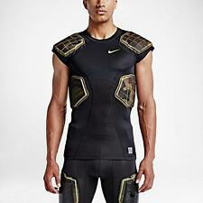 Nike Pro Combat Hyperstrong 3.0 4 Pad Camo Football Compression Shirt Various