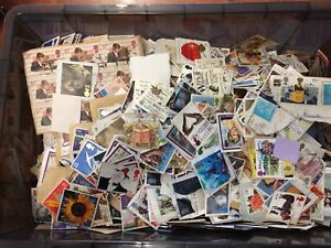 50g LUCKY DIP Great Britain Commemorative Stamps Only ON Paper Pre 2001 Kiloware