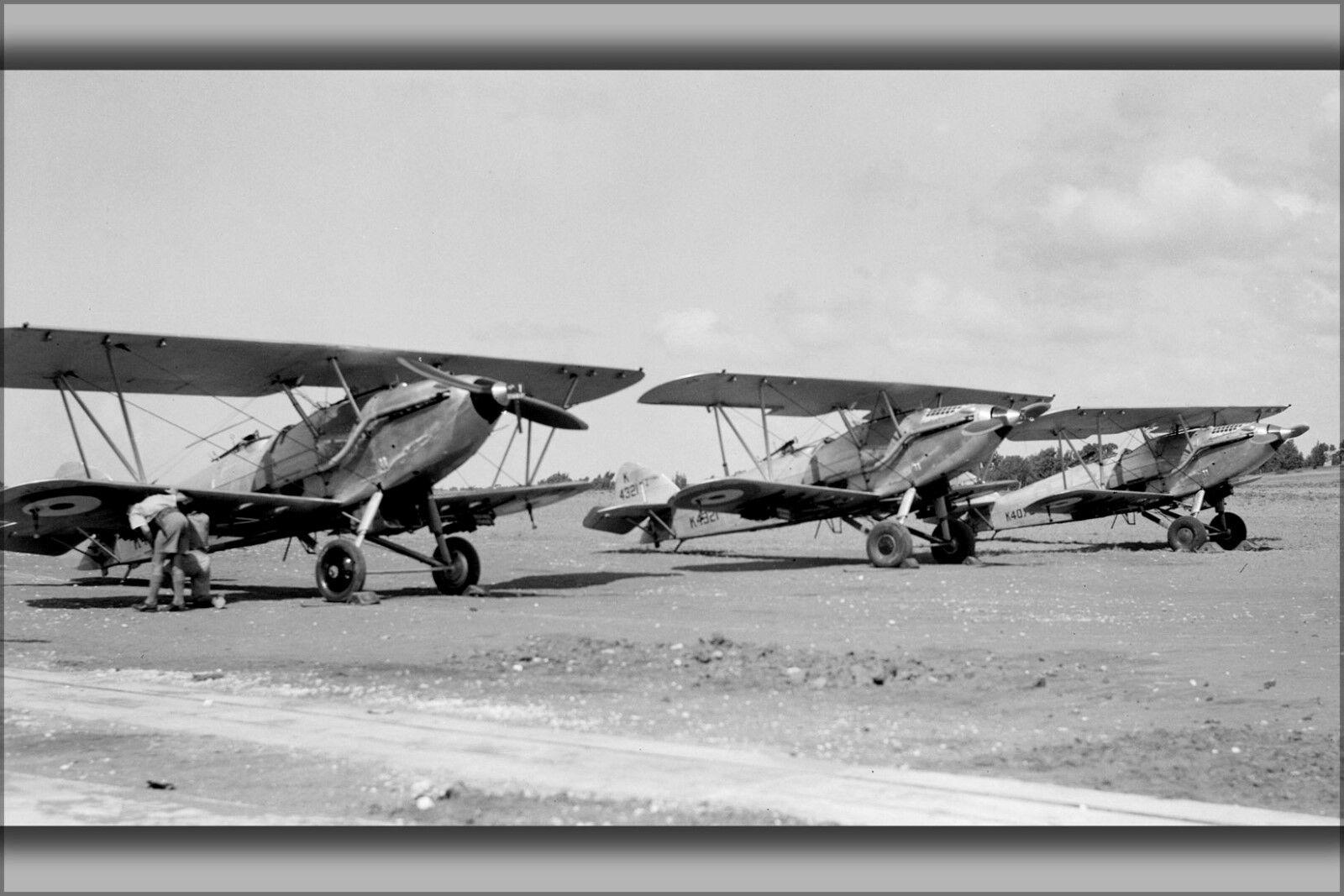 Plakat, Viele Größen; Hawker Winterhart Loc