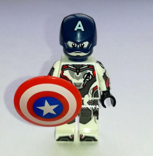 Capitán América Minifigura Juguete Bloques Marvel Avengers Endgame Lego Nuevo