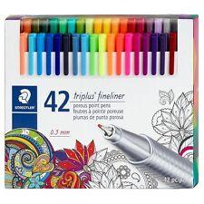 Staedtler Triplus Fineliner Assorted Color Pen Set, 42 Count     Free Shipping