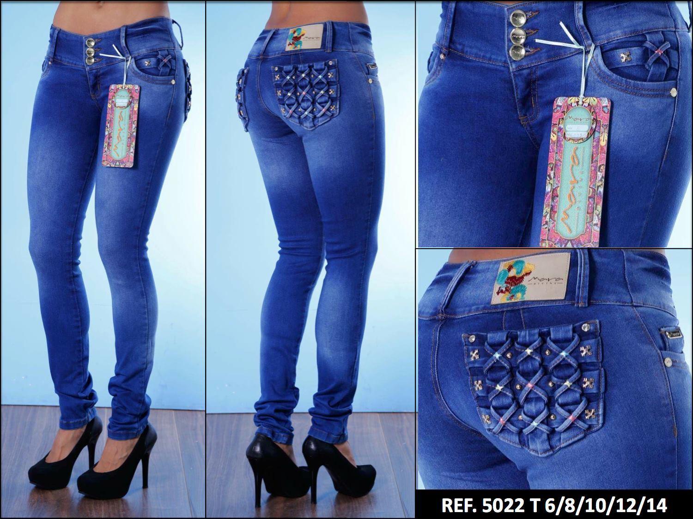 Jeans Kolumbianische steht auf Schwanz Marke Mara Divine   Hosen Jeans Push Up