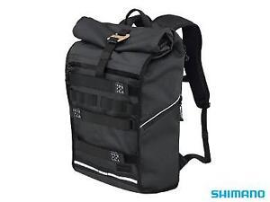 Shimano-Tokyo-23-Litre-Urban-Bicycle-Bag-Messenger-Backpack-BG-DPMS-TITANIUM