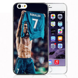 best sneakers f8a19 1ae32 Details about RONALDO CR7 Silicone phone Cover Case For iphone X 8/6/7 Plus  Samsung